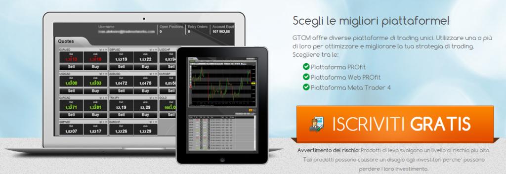 Meta Trader 4 e GTCM